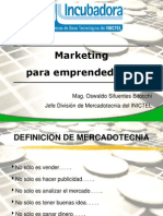 Charla Marketing