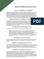 Principales Herramientas CASE Del Mercado y Su Uso