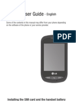 LG800G Phone Manual