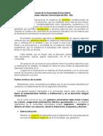 Acuerdo de La Comunidad Universitaria(2)