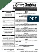 decreto 47-2008 Ley para el Reconocimiento de las Comunicaciones y Firmas Electrónicas
