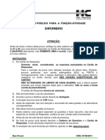 ProvaEnf- HC-2011