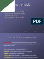 Estructura de La Argumentacion