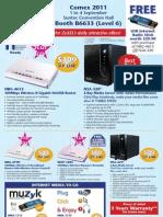 Bizgram Booth 6633 Comex Zyxel Networking