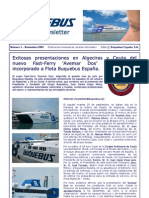 11_1 Buquebus Monthly Newsletter Nov 2005