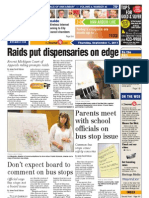 A2 Journal Front Page