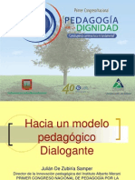 3. Hacia Un Modelo Pedagógico Dialog Ante Julián de Zubiría S