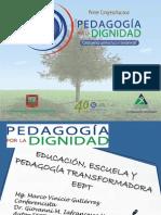 7. n Escuela y Pedagogía Transform Ad or A Marco Vinic