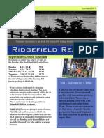 September 2011 Newsletter