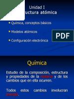 Modelos Atomicos y Configuracion Electronic A