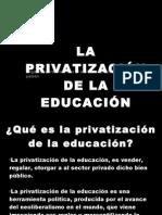 Presentación privatización
