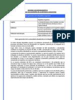 Informe sociodemografico de la comunidad salvadoreña en Argentina (2010)