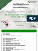 Estructura Socioeconómica y Política de México