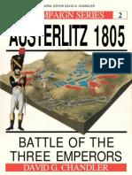 Osprey - Campaign 002 - Austerlitz 1805 Battle of Three Emperors [Osprey Campaign 002]
