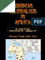 European Colonialism in Africa