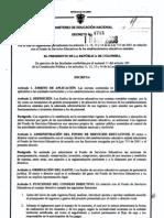 DECRETO 4791