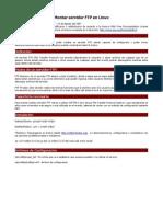 Ftp Servidor Debian