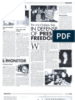 The Writ of Habeas Da in Defense of Press Freedom (Apr. 2008)