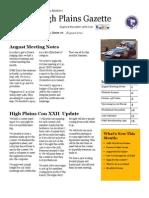 High Plains Gazette Vol 10