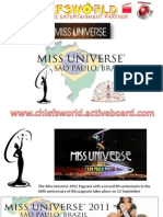 Miss Universe 2011_Contestants Pictures and Details