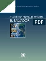 Analisis de Inversion El Salvador de Unctad