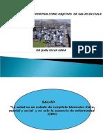 Actividad f+¡sica y deportiva como objetivo de salud en Chile