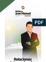Relaciones-Internacionales Juan Manuel Santos[1]