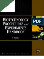 Biotechnology Procedures and Experiments Handbook$ VRP
