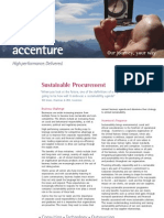 Accenture Sustainable Procurement
