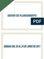 SESION DE PLANEAMIENTO