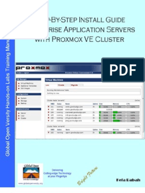 Step-By-Step Install Guide Enterprise Application Servers