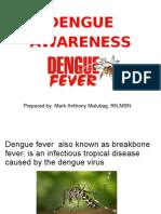 Dengue Awareness Kimberly