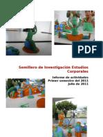 Informe de Actividades Primer Semestre 2011