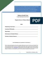 Reliance Growth Fund Feb 2011