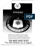 Ted Gunderson the Finders