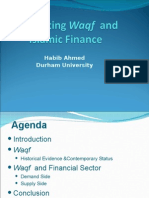 Waqf and Islamic Finance