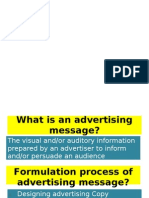 Chapter 8-Advertising Message Formulation,COPY and LAYOUT