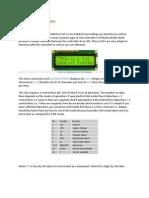 Interfacing LCD to 8051