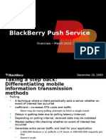Blackberry Push Overview