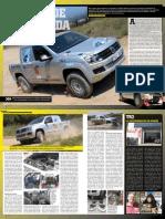 Test Racing Volkswagen Amarok T1 MotorAccion Magazine sept 2011