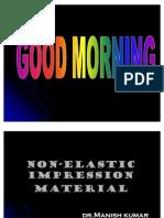 Non-elastic Impression Material