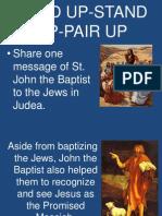 Lesson 2 - Baptism of Jesus