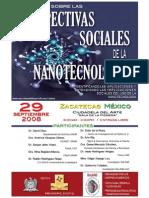 Poster ReLANS Ecnuentro Nanotecnología y Sociedad