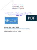 Appeal to UN High Commissioner for Human Rights