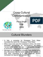 cross cultural comm