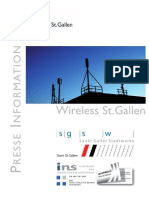 Presse Wireless St. Gallen, Projektskizze II/II (german)