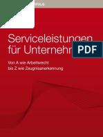 Service zum Erfolg