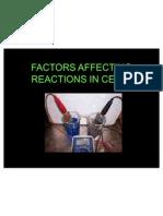 Factors Affecting Cells