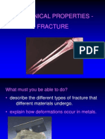 Fracture & Strength of Materials