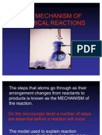 Mechanism of Chemical Change